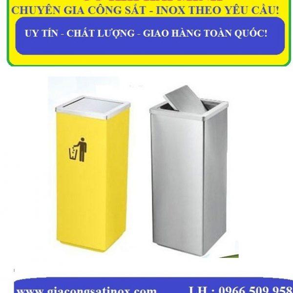Thùng rác inox sự lựa chọn tốt nhất hiện nay góp phần bảo vệ môi trường xanh - sạch - đẹp