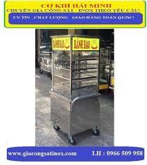 Tủ bánh bao inox HM-01