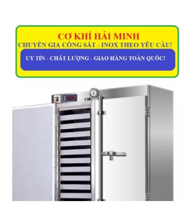 tủ hấp cơm 80kg sử dụng điện và gas