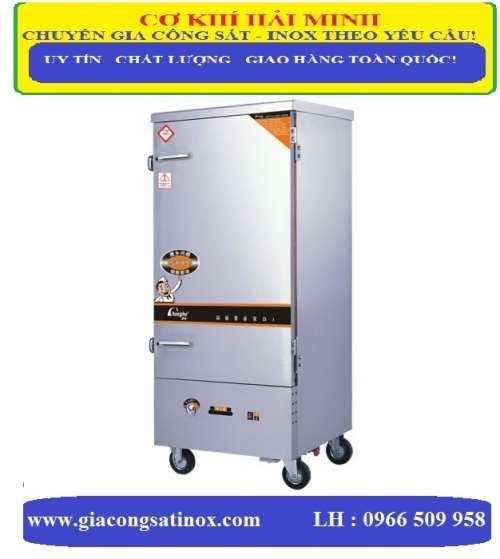 tủ nấu cơm 30kg sử dụng điện và gas