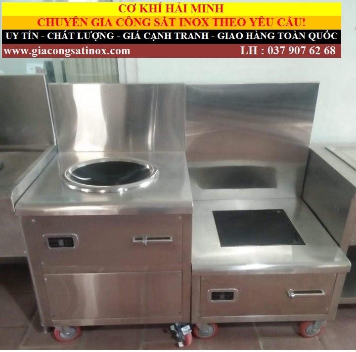 bếp á đôi có vòi cấp nước Hải Minh A31 (Ảnh 4)