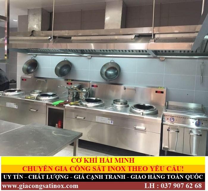 bếp á đôi có vòi cấp nước Hải Minh A31 (Ảnh 3)