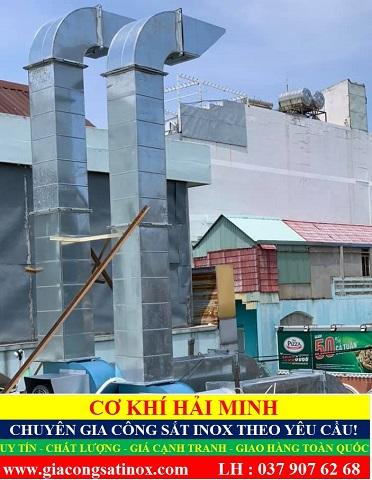 Ống hút mùi công nghiệp chất lượng giá rẻ TPHCM Vũng Tàu Đà Nẵng