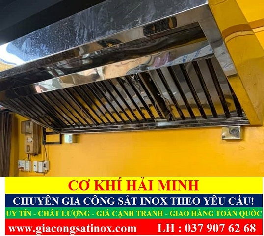 Phễu hút khói chất lượng giá rẻ TPHCM Vũng Tàu Đà Nẵng Đồng Tháp