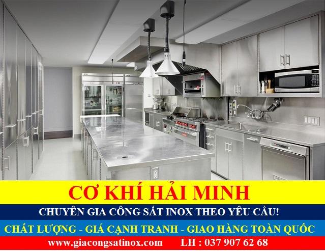 Thiết bị inox bếp công nghiệp chất lượng TPHCM Vũng Tàu Đà Nẵng