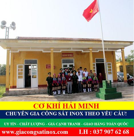 Kích thước cột cờ trường học chất lượng TPHCM Vũng Tàu Đà Nẵng