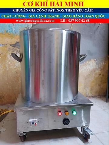 Nồi nấu phở điện inox chất lượng giá rẻ TPHCM Vũng Tàu Đà Nẵng