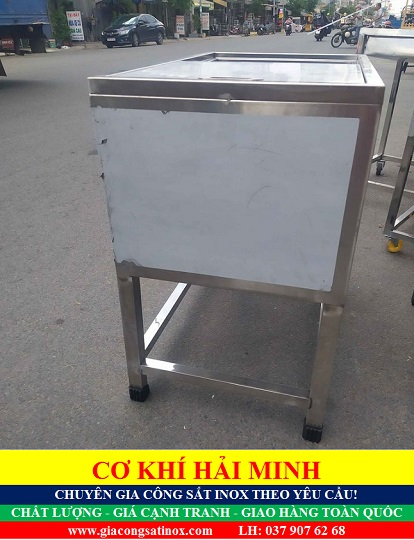 tủ đá âm inox chất lượng giá rẻ TPHCM Vũng Tàu Đà Nẵng Đồng Tháp